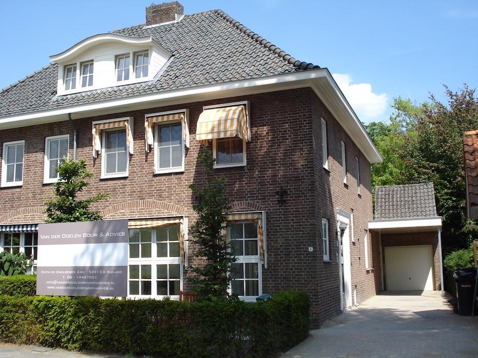 verbouwing huis aannemer vught woonhuis