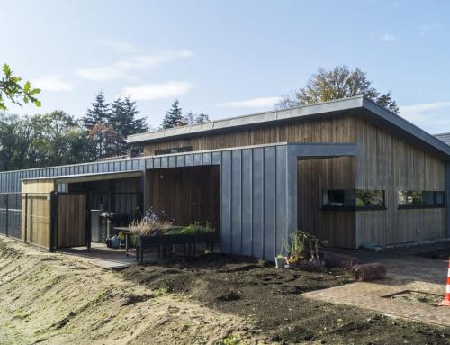 Nieuwbouw Heesch met hout en staal
